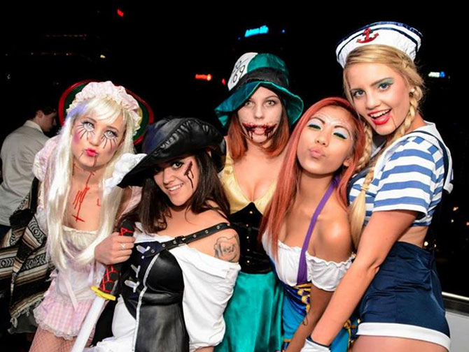 ニューヨーク ハロウィンパーティ - 仮装衣装