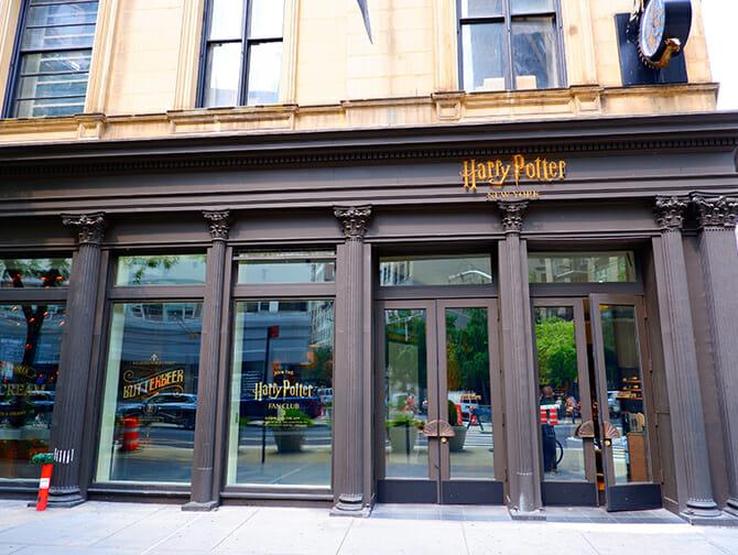 ニューヨーク ハリーポッター ストア