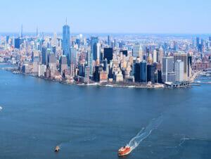ニューヨークの格安ヘリコプターツアー