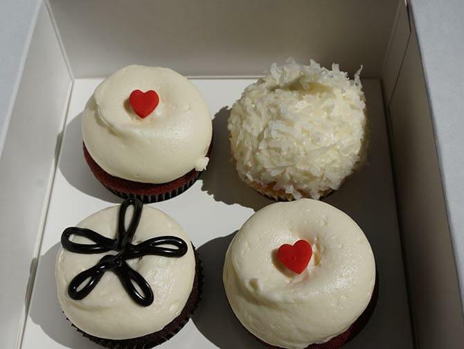 ニューヨーク 母の日 - ジョージタウン カップケーキ