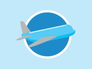 ニューヨークへのフライト