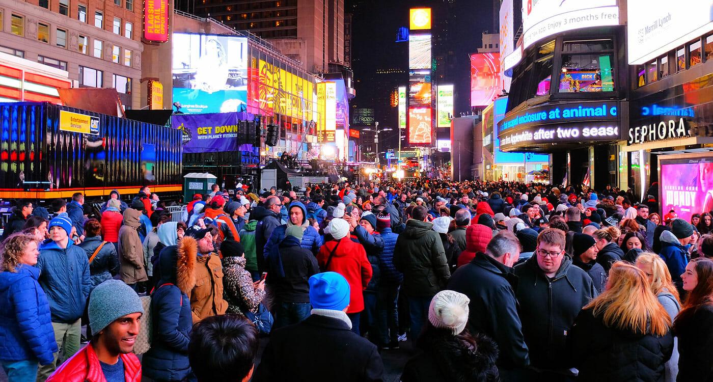 Erics Blog Ball drop Times Square