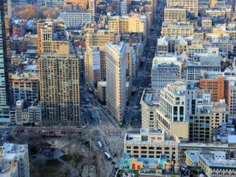 ニューヨーク フラットアイアンビル - 眺め