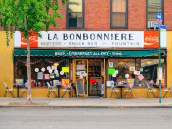 ニューヨーク 朝ごはん - ラ・ボンボニエール