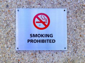 ニューヨークでの喫煙