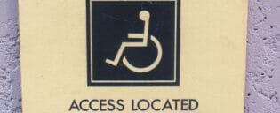 ニューヨークの身体障害者用設備