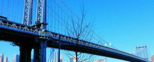 ニューヨークのマンハッタンブリッジ