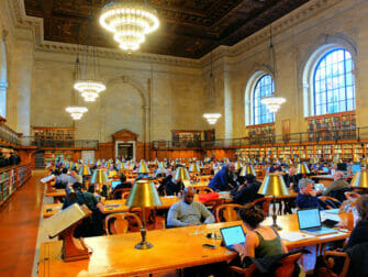 ニューヨークのロケ地 - 公共図書館