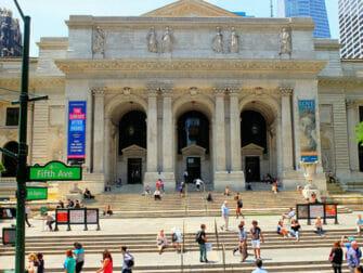 ニューヨークのロケ地 - デイアフタートゥモロー - 公共図書館