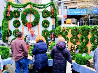 ニューヨーク ホリデーマーケット - ユニオンスクエア クリスマス