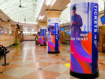 ニューヨークのペンステーション - NJトランジット