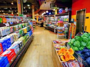ニューヨークのスーパーマーケット