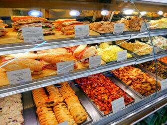 ニューヨークのスーパーマーケット - ホールフーズのセレクション