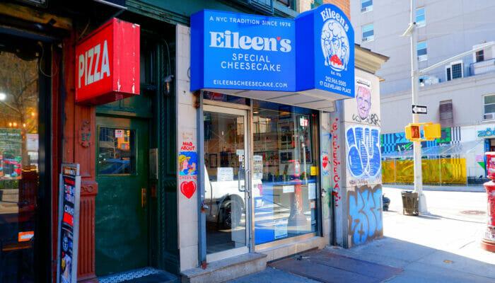 ニューヨーク 最高のチーズケーキ - Eileen's Special Cheesecake