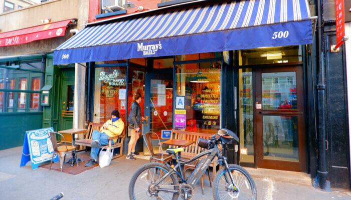 ニューヨークでいちばん美味しいコーヒーショップとベーグルバー - マレイズベーグル