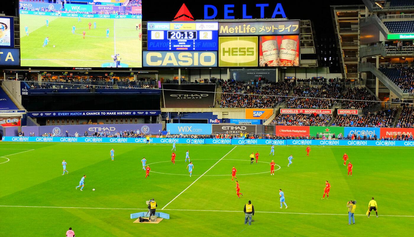 ニューヨークのMLSサッカー