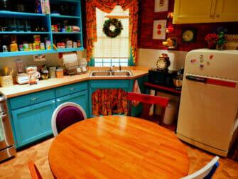 ニューヨークのフレンズエクスペリエンス - モニカのキッチン