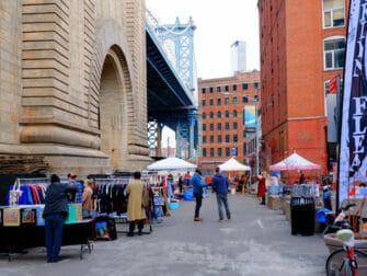 ブルックリン DUMBOフリーマーケット