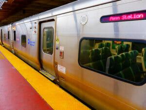 LIRRの列車