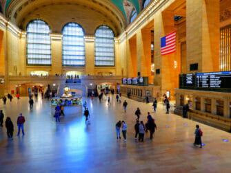 ニューヨークのメトロノース鉄道 - ニューヨークのグランドセントラル