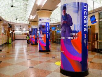 ニューヨークのニュージャージートランジット - 駅