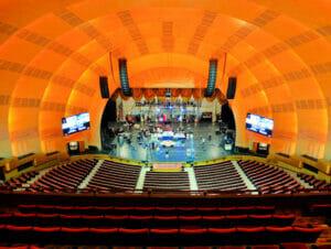 ニューヨークのラジオシティミュージックホール
