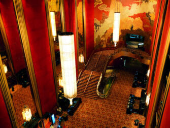 ニューヨークのラジオシティミュージックホール - 内装
