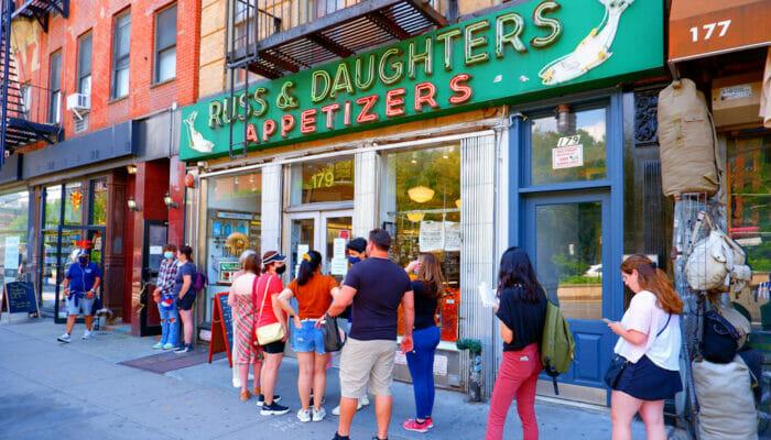 ニューヨークで最高のベーグル - ラス&ドーターズ