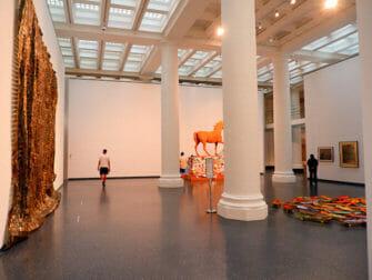 ニューヨークのブルックリン美術館 - 美術館の内装