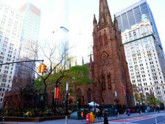 ニューヨークのハミルトンツアー - トリニティ教会
