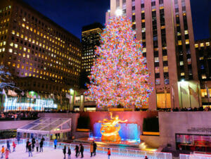 ロックフェラーセンター クリスマスツリー 点灯式 - ツリー