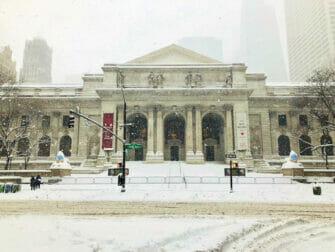 ニューヨークの雪 - 建物