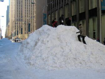 ニューヨークの雪 - 雪山