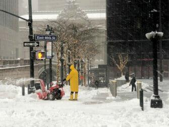 ニューヨークの雪 - 街路