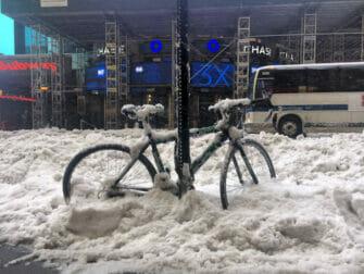 ニューヨークの雪 - 交通手段